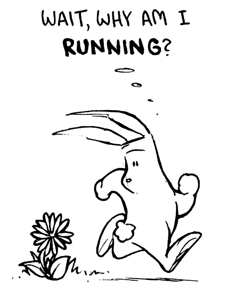 ROONIE: Wait, why am I RUNNING?