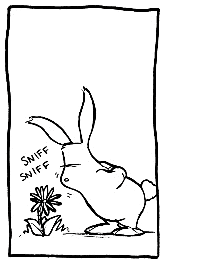 SOUND: sniff sniff