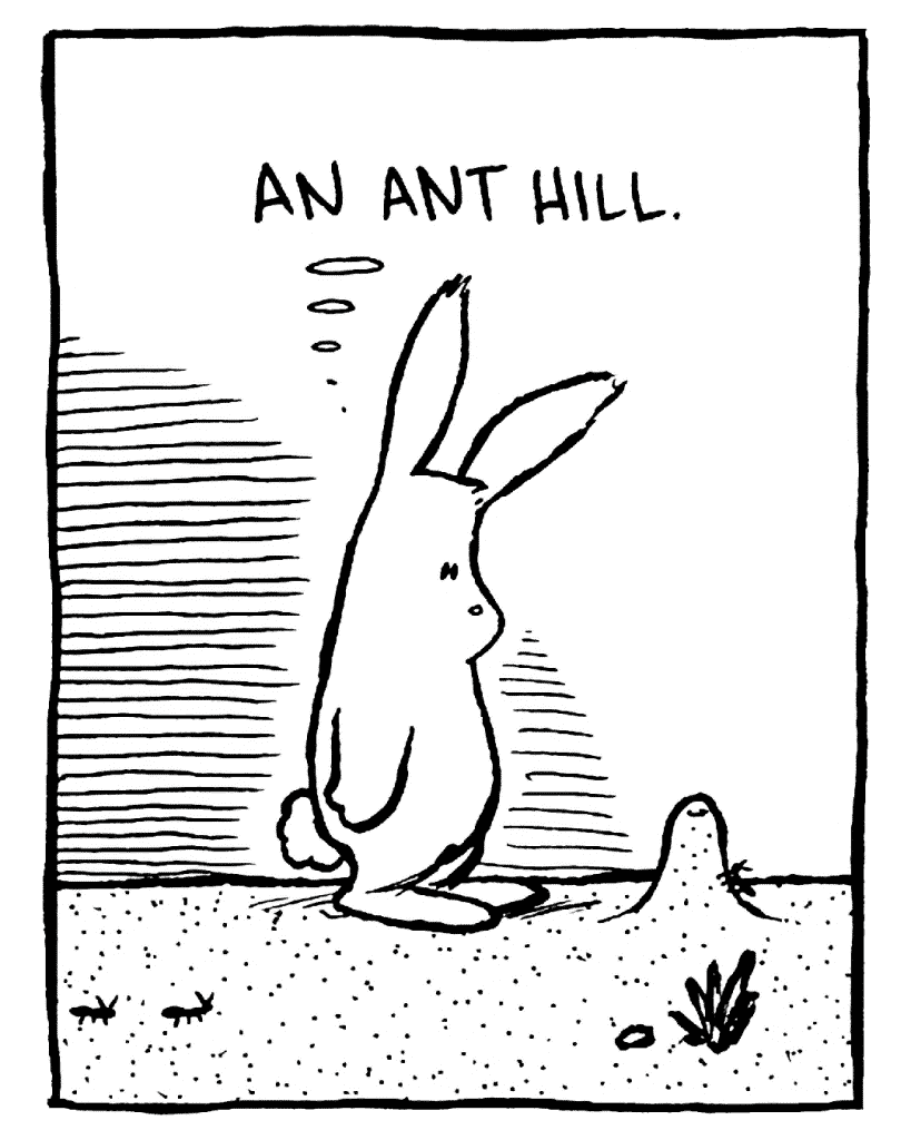 ROONIE: An ant hill.