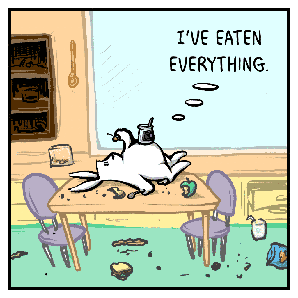 ROONIE: I've eaten everything.