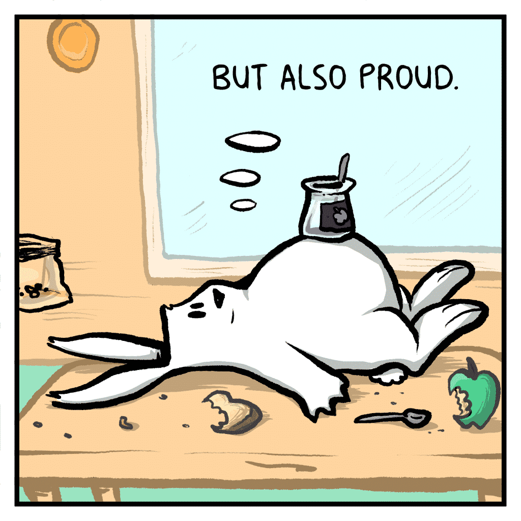 ROONIE: But also proud.