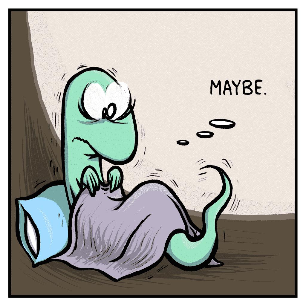 HOT CHOCOLATE: Maybe.