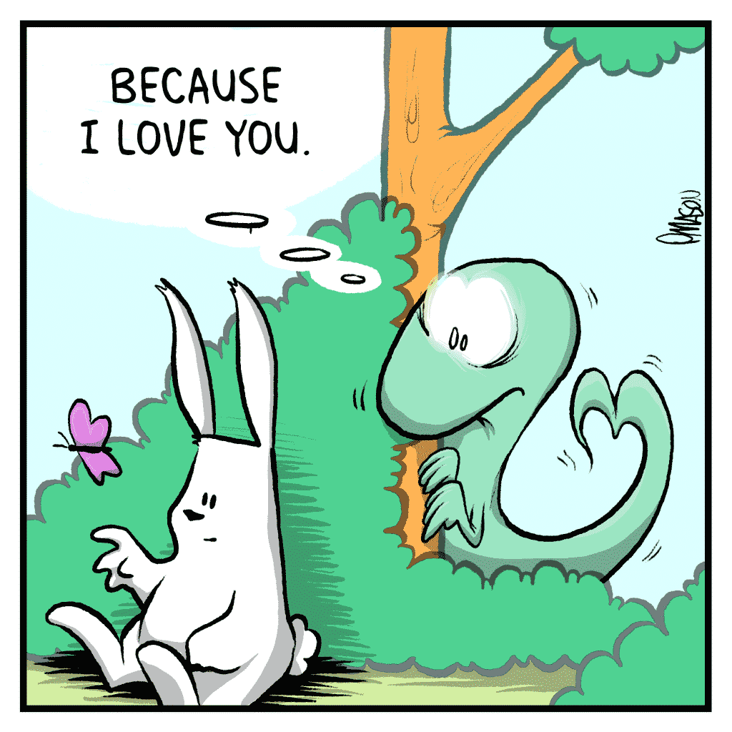 HOT CHOCOLATE: Because I love you.