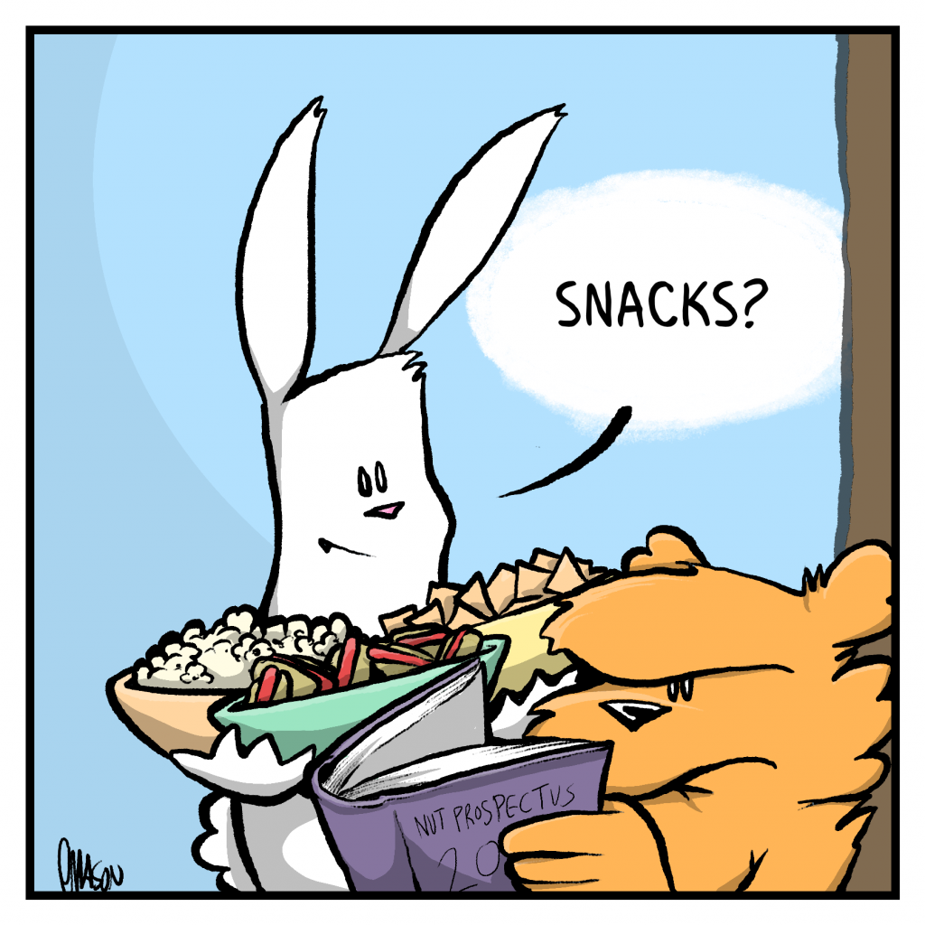 ROONIE: Snacks?