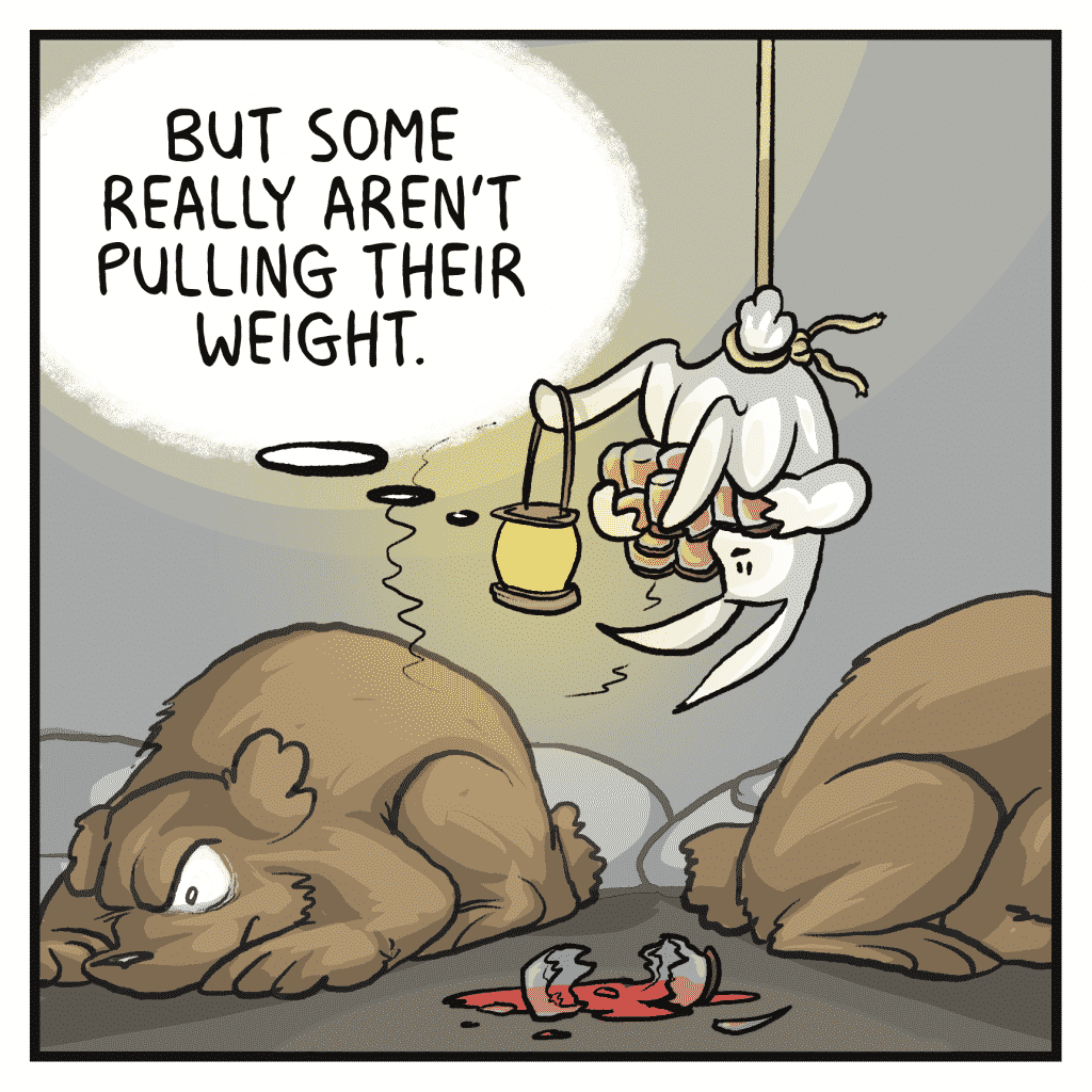 ROONIE: But some really aren't pulling their weight.