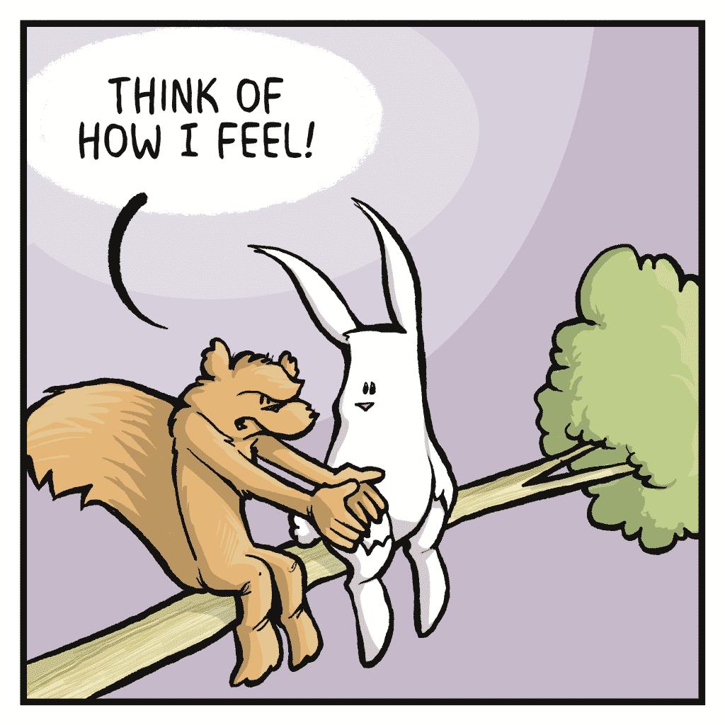 FLYNN: Think of how I feel!