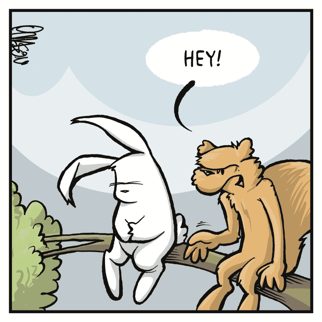 FLYNN: Hey!